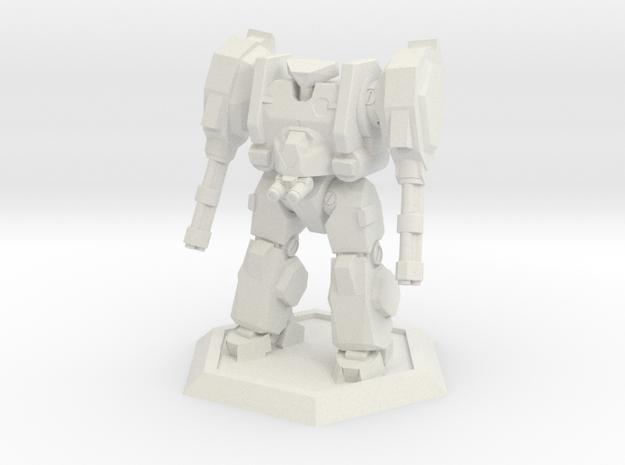 Mecha- Hunter (1/500th) in White Natural Versatile Plastic