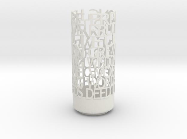 havamal light 3d printed