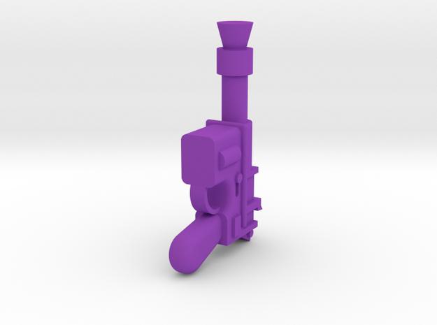Solo Blaster in Purple Processed Versatile Plastic
