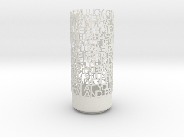 Light Poem 3 3d printed