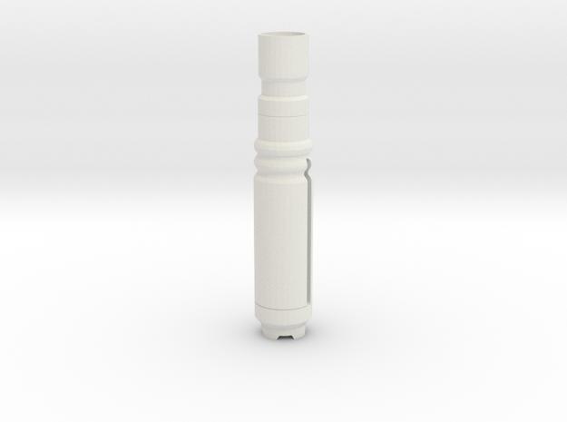 Sonic body in White Natural Versatile Plastic