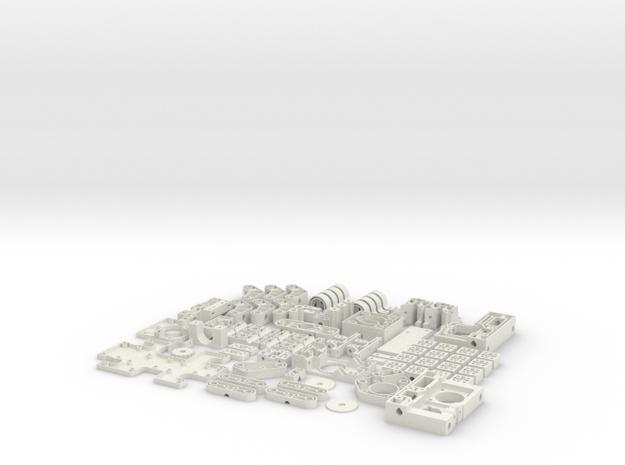 Hollow Mini Mendel Sheet Set 3d printed