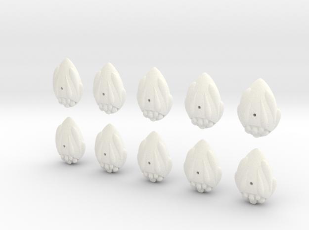easter egg fleet set 3d printed