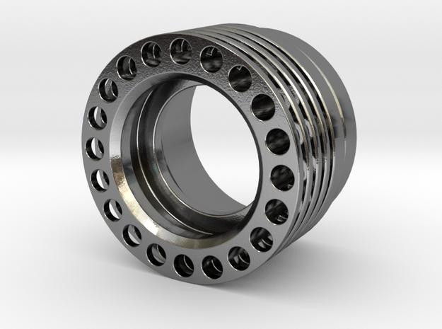 Finned Heatsink 2 for SWM V10R (tritium holes x20) 3d printed