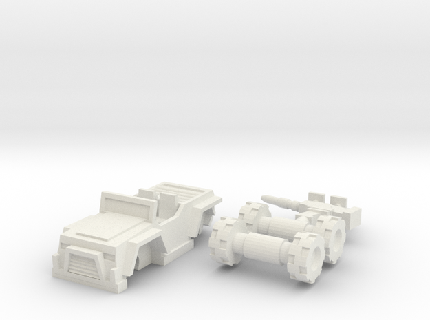 Hound vehicle mode in White Natural Versatile Plastic