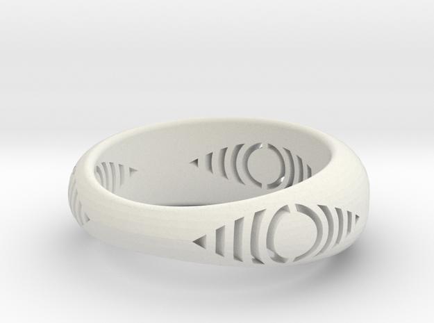 anel detalhe olho 3d printed