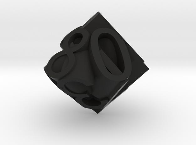 Frameless D10 3d printed