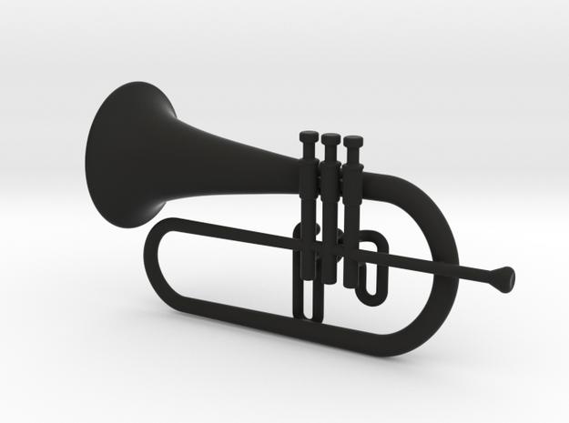Flugel Horn 3d printed