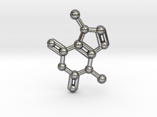 Theobromine (Chocolate) Molecule Necklace / Keycha