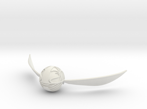 Golden Snitch 3d printed