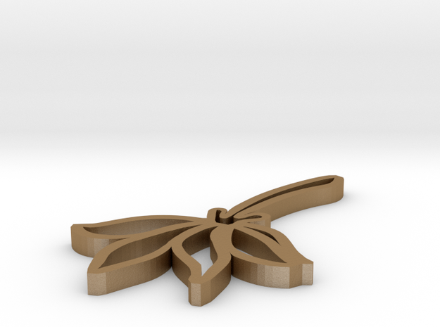 Pressed Flower Pendant 3d printed