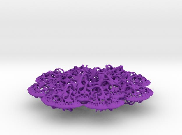 3D fractal: 'Woven Flower'