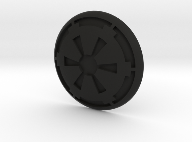 Cog Button 3d printed