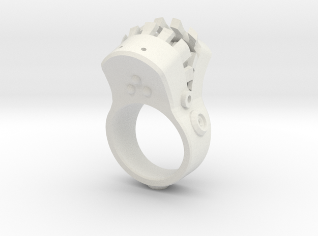 Big mouth Ring 3d printed