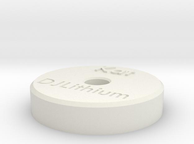 45RPMA in White Natural Versatile Plastic
