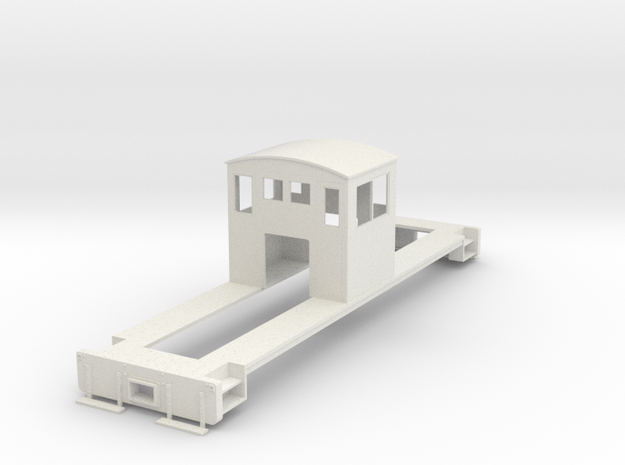 On30 Centercab conversion for FM in White Natural Versatile Plastic