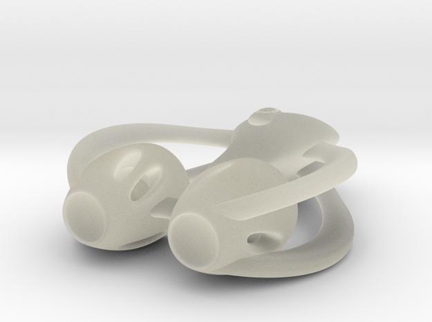 spaceship 3d printed