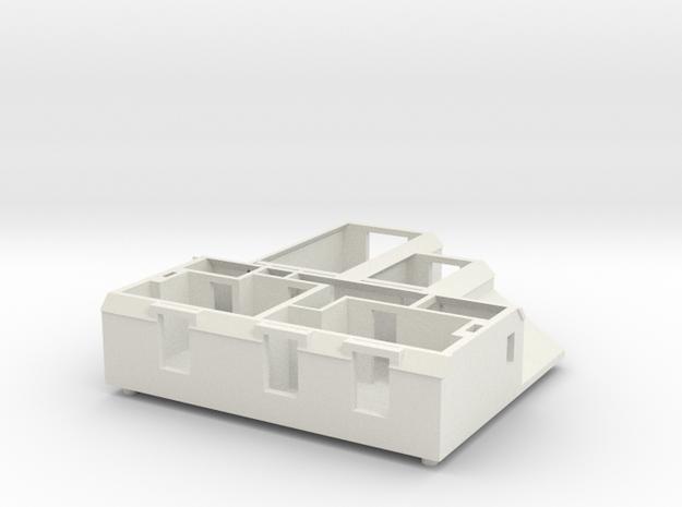 CF First floor in White Natural Versatile Plastic