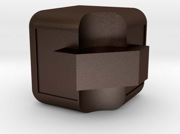 3x3x3 Edge Piece 3d printed