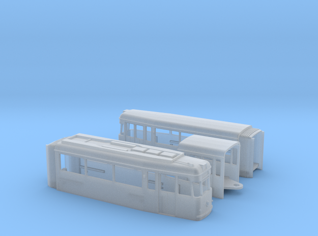 Tram Gotha G4-67 in Smooth Fine Detail Plastic