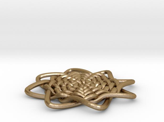Celtic Knot Pendant 3d printed