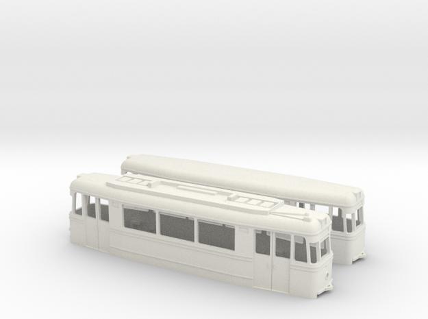 Tram Gotha ET/EB57 (one direction) 3d printed