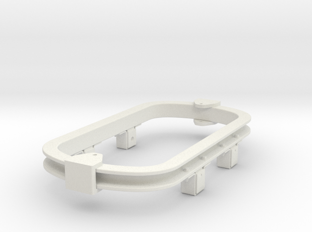 1/35 or 1/32 scale skip chassis (type 2 ) 16.5mm g in White Natural Versatile Plastic