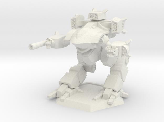 Mecha- Guardian II (1/285th) in White Natural Versatile Plastic