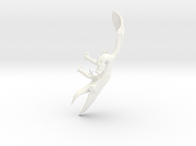 Dragon Cuff Earring Left 3d printed