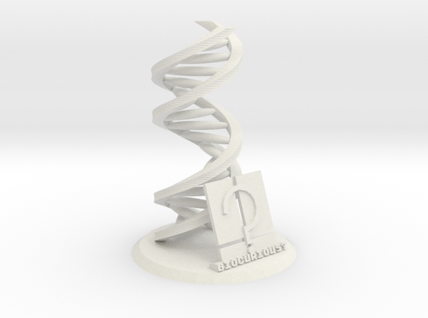 Accurate DNA Model: Biocurious Edition 3d printed