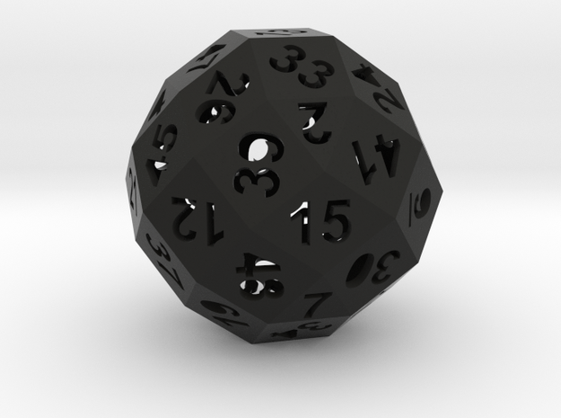 50-side die (hollow) 3d printed