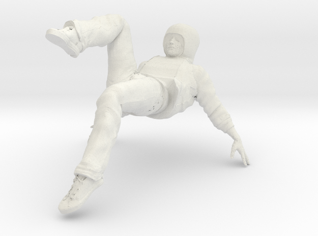 Male dancer 3d printed