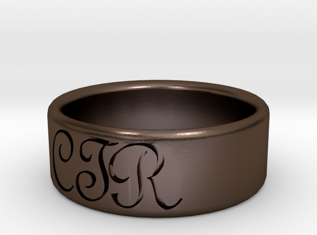 CTR Ring Size 9 3d printed