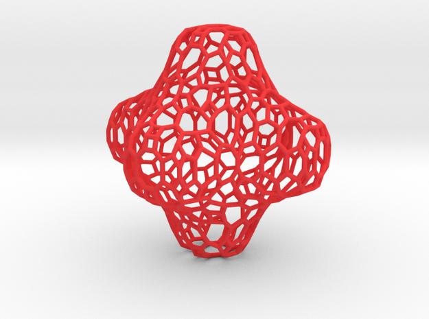 Voronoi Cross 3d printed