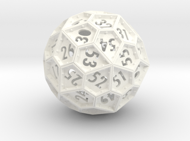 The Rosetta Dice #2 (60) 3d printed