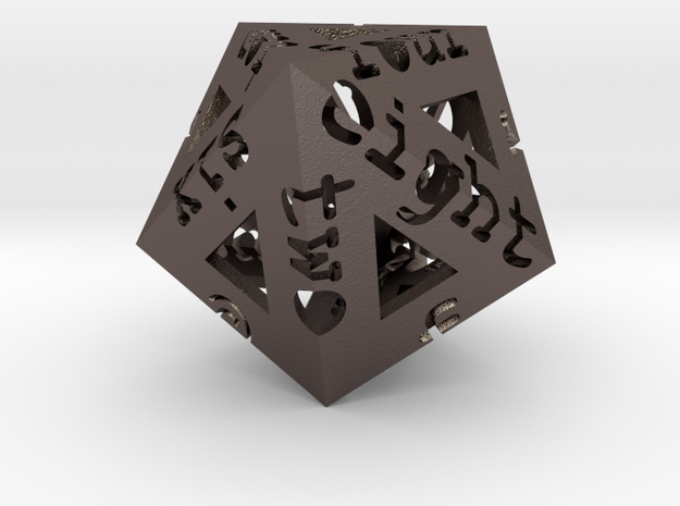 Dypenta D10 in Polished Bronzed Silver Steel