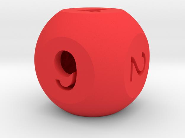 ''FarAway-Roller'' Die (D6) v2.0 3d printed