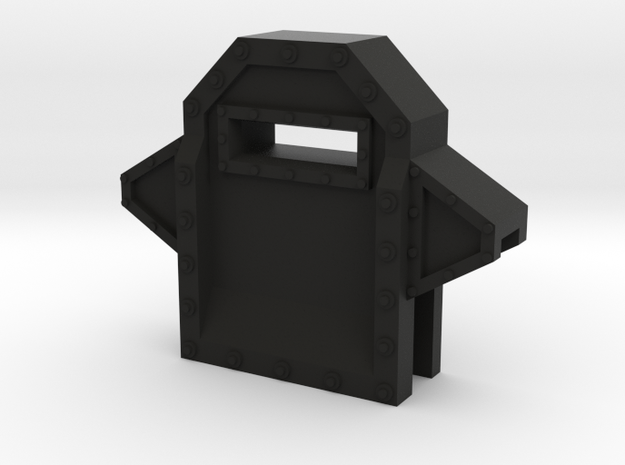 Wall Segment Center Gun Port 3d printed