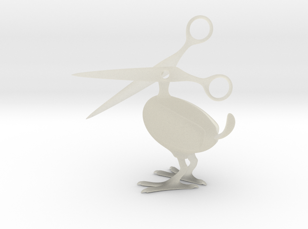 Scissor Bird in Transparent Acrylic