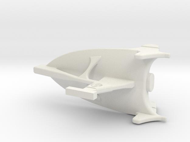 Corumai Fleet Action 2.5inch in White Natural Versatile Plastic