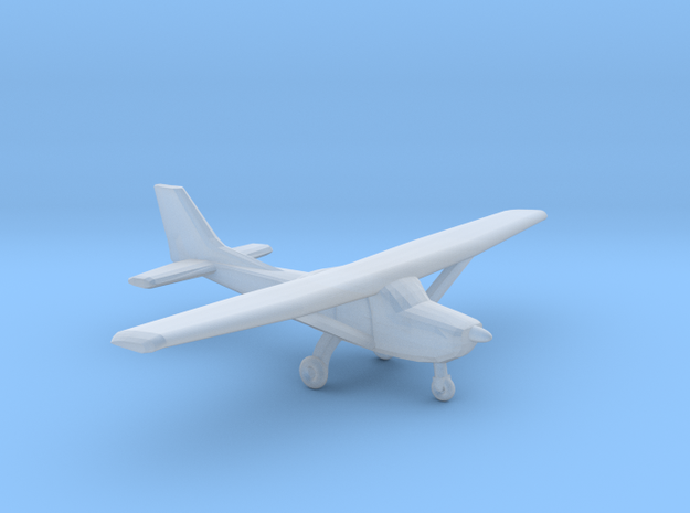 Cessna 172 in Smooth Fine Detail Plastic: 1:220
