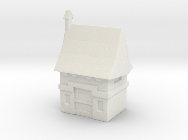 Vampire House in White Natural Versatile Plastic