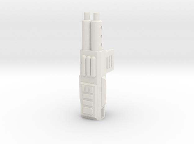 Sunlink - Double Clips Gun in White Natural Versatile Plastic