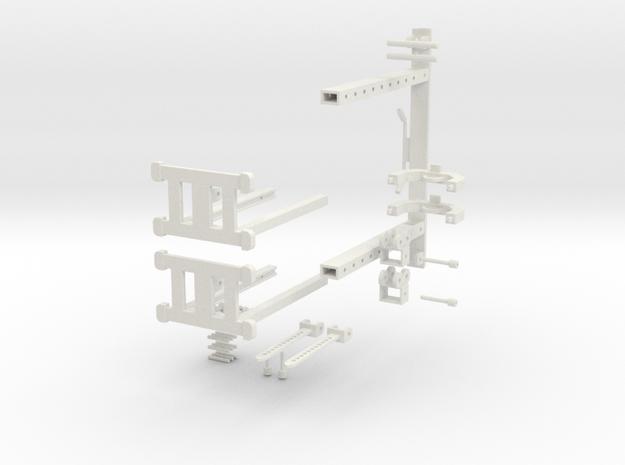 MINI Cross Over machine PT1 in White Natural Versatile Plastic