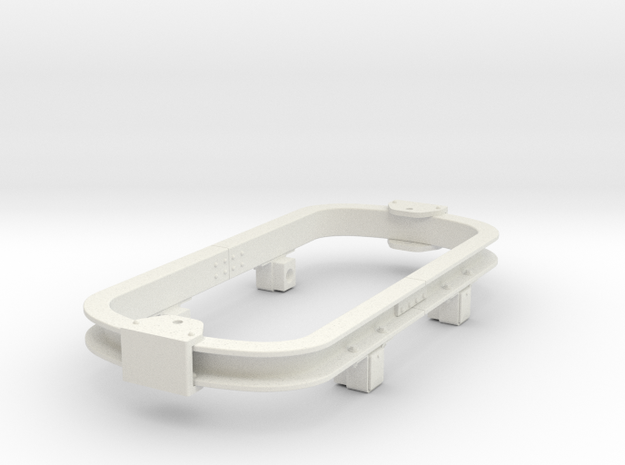 Gn15 skip chassis version2 in White Natural Versatile Plastic