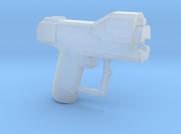 Space Pistol-G Variant in Smooth Fine Detail Plastic