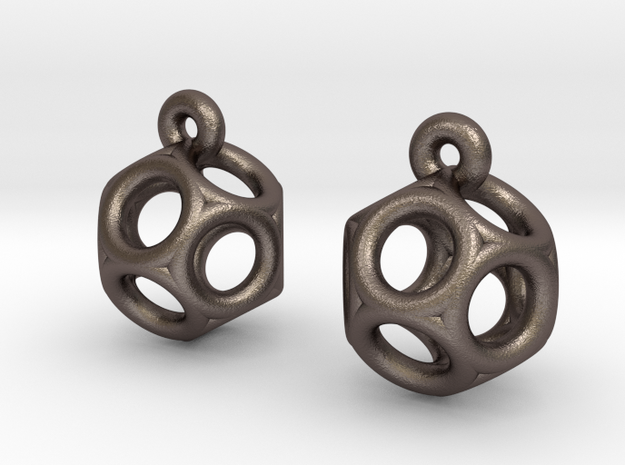 Dod Earrings 3d printed