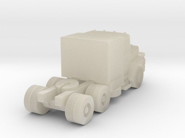 Mack Semi Truck 3 - Z scale 3d printed