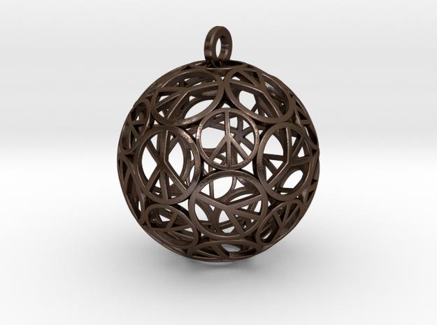 Peace Ball 3d printed