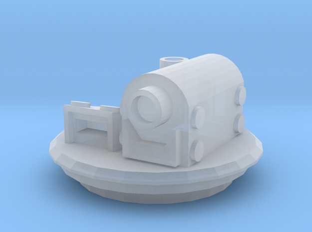 Hatch with Targeter and periscope 3d printed